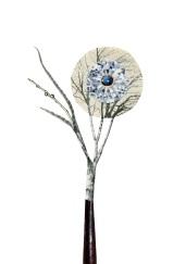 Blue Stone Diamond tree, 4 x 6 inches