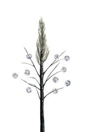 Diamond Berry Tree, 5.5 x 8.5 inches