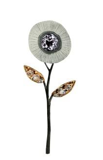 Diamond Icon Flower, 5.5 x 8.5 inches