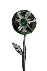Fish Eye flower ,4 x 6 inches