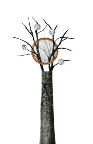Window Tree, 5.5 x 8.5 inches